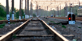 Schienen Gleise