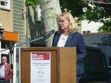 Mairednerin Ulrike Laux, IG BAU Bundesvorstand